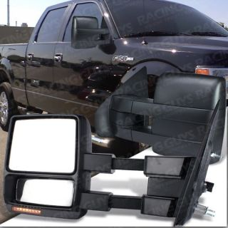 TOWING MIRRORS LED TURN SIGNAL PUDDLE LIGHTS PAIR (Fits Ford F 150