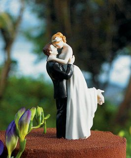 True Romance Bridal Couple Wedding Cake Topper CUSTOMIZATION & VEIL