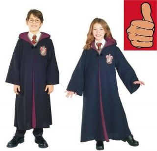 NEW Harry Potter Child s Costume Deluxe Harry Potter Gryffindor Robe