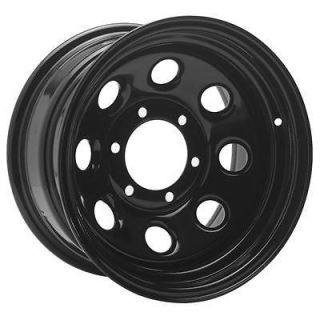 Cragar Wheel Soft 8 Steel Black 17 x 8 8 x 170mm Bolt Circle 4.5