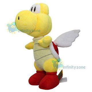 NEW Super Mario Bros 13 Koopa Red Paratroopa Plush Doll Nintendo Wii
