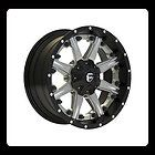 Newly listed 22 X 12 FUEL OFFROAD D252 NUTZ 2PC BLACK MACHINED 8X180