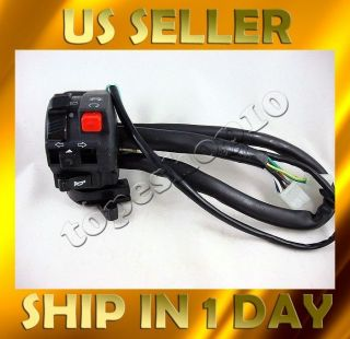 switch light choke turn signal horn 110 125 200 250 racing ATV quad