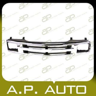 NEW GRILLE GRILL ASSEMBLY REPLACEMENT 94 97 CHEVY S10 PICKUP BLAZER