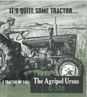 ursus tractor c 335 brochure m3 c 335 c335 time left $ 11 90 buy it