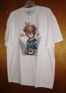 DISNEYS KINGDOM HEARTS SORA CROWN T SHIRT XXL 2XL NEW NEED A HAIRCUT