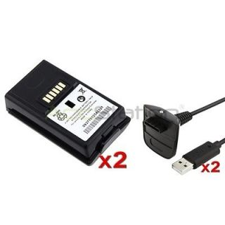Newly listed For Xbox 360 Wireless Controller 2 Pack Battery+2 Pcs