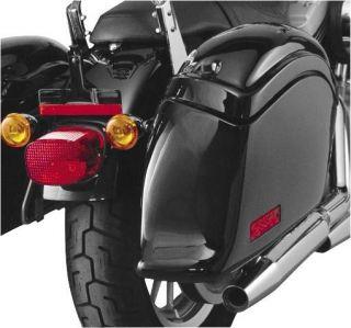 National Cycle Saddlebag N1101 for Harley Davidson FLST Heritage