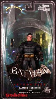 DC Direct Batman Arkham City series 1 infected Batman action figure