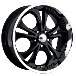 CPP Boss Wheels Rims, style 304, 20 x 8.5, 6 x 5.5, Black, MADE IN
