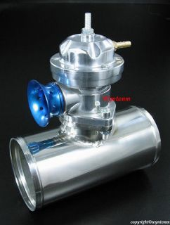 Turbo TYPE RS BOV Blow off Bypass Valve +3 Stainless Steel Adapter