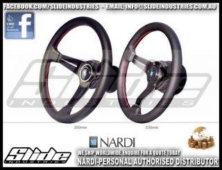 Nardi Torino Steering Wheel Deep Corn Perforated Leather Dish 350mm