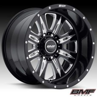 BMF Wheels 464B 090816500 REHAB DEATH METAL BLACK 20x9 Bolt8x6.5