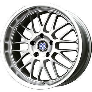 new 17x7 4x100 beyern mesh silver wheels rims check