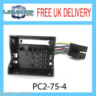 PC2 75 4 Volkswagen Transporter ISO Stereo Head Unit Harness Adaptor