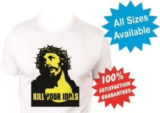 kill your idols shirt in Clothing, Shoes & Accessories