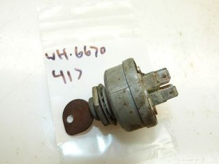 wheel horse 417 tractor ignition switch  12 74