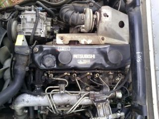 1992 1995 MITSUBISHI FE 439 4D34 1AT3 4 Cylinder Diesel Engine
