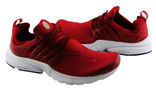 NIKE AIR PRESTO MENS SHOES/RUNNERS/SNEAKER RED/WHITE US SIZES