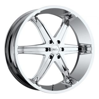 24 inch milanni kool whip 6 chrome wheels 5x5 5x127