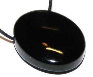 rainbow obsidian scrying gemstone mirror pendant from united kingdom