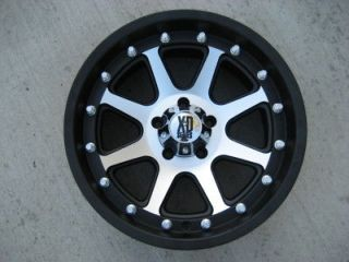 18x 9 Rim KMC XD798 Addict Gloss Black Machined NEW xd tahoe jeep GMC