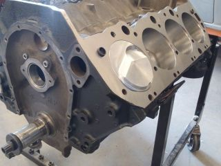 454 short block assembly corvette chevelle bbc chevy from canada