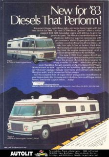 1983 vogue diesel motorhome rv ad time left $ 7 99 buy it now 1983