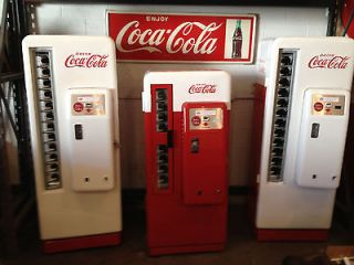 Cavalier 72 Coca Cola Machine   Fully Restored Coke Bottle Vending