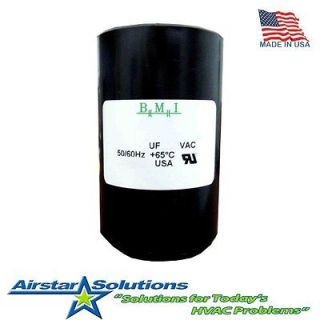 BMI Motor Start Capacitor 460 552 uF MFD x 110/125 VAC   Made In USA