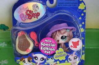 NEW IN PACKAGE SPECIAL EDITION LITTLEST PET SHOP PINK MOP SHEEPDOG