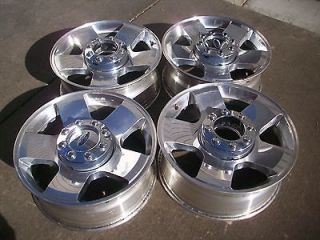 20 FORD F250 F350 OEM FACTORY SUPER DUTY POLISHED FACTORY WHEELS RIMS