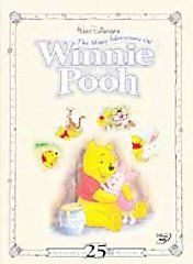 The Many Adventures of Winnie the Pooh (DVD, 2002, 25th Anniversary