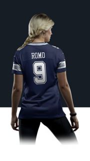 Tony Romo Womens Football Away Limited Jersey 477434_419_B_BODY