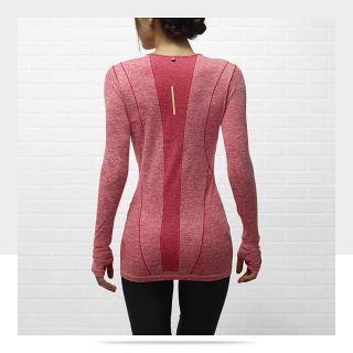 Nike Dri FIT Knit Long Sleeve Womens Running Shirt 520294_659_B