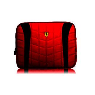 Officially Licensed Ferrari 11 Scuderia Red and Black Computer Sleeve