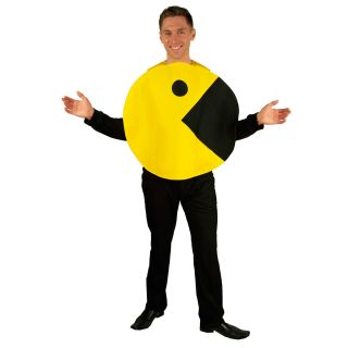 pac man 2d profile adult costume incogneato description includes pac