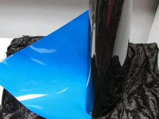 Double sided roll 24 wide Over 30 feet long Blue/Black
