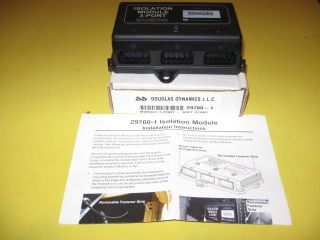 WESTERN PLOW FISHER SNOWPLOW 3 PORT ISOLATION MODULE 29760 1 NEW IN