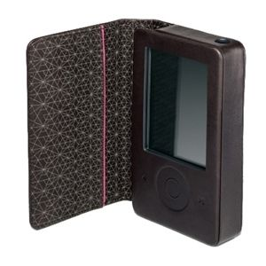 Microsoft Zune Leather Case for 30 GB Zune (BRAND NEW).