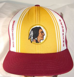 New Vintage 80s Washington Redskins NFL Football Hat Cap Snapback