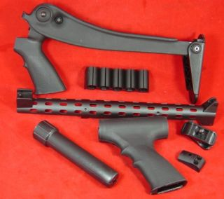 ATI Remington 870 Top Folding Pistol Grip Stock Set