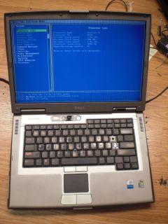 Latitude D810 1 86 GHz Pentium M 512 MB BIOS Laptop Notebook for parts