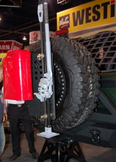 1987 2012 Jeep Wrangler & Unlimited Smittybilt Spare Tire Mount I RACK