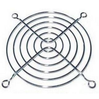 Chrome Wire Metal 92mm Fan Grill Guard w Screws New