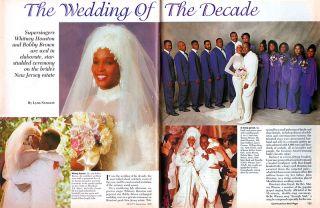 Ebony Whitney Houston Wedding to Bobby Brown Jacob Lawrence Gregory