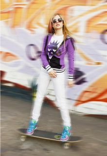 ABBEY DAWN AVRIL LAVIGNE Rock Princess SKULL TEE T SHIRT NWT RARE