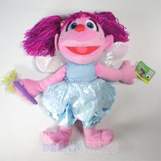 21 Sesame Street Puppet Abby Cadabby Plush Doll Figure