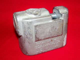 Hi Shear High Security Padlock Body Only Torrance California US 1983