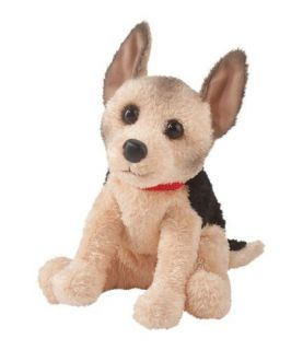 Douglas Cuddle Toys Plush 10 ABBY German Shepherd Puppy ~NEW~